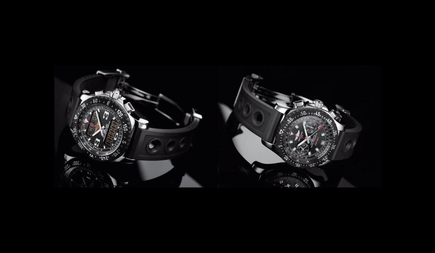 Breitling Raven Special Editions: Skyracer & Airwolf