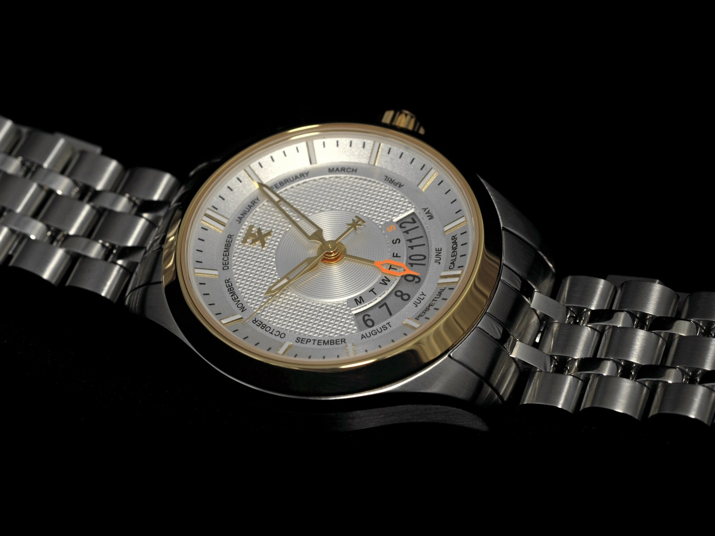 TX 400 Series Watch Perpetual Weekly Calendar