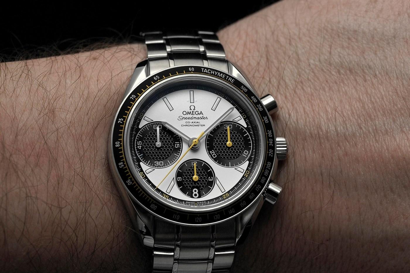 Omega Speedmaster Racing wristshot