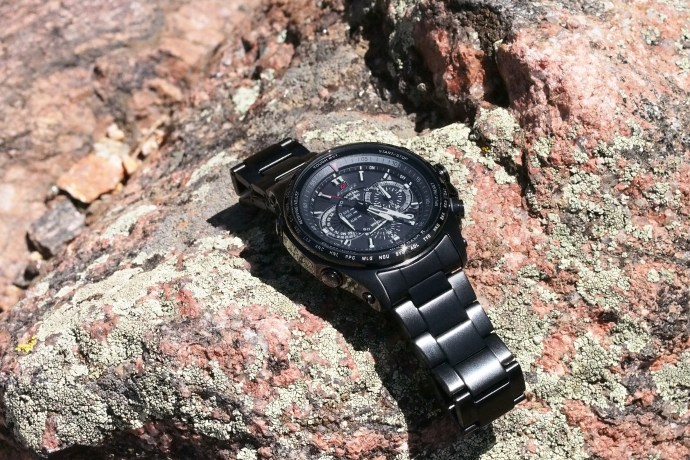 Edifice Black Label Atomic Solar Chronograph EQW-T720DC