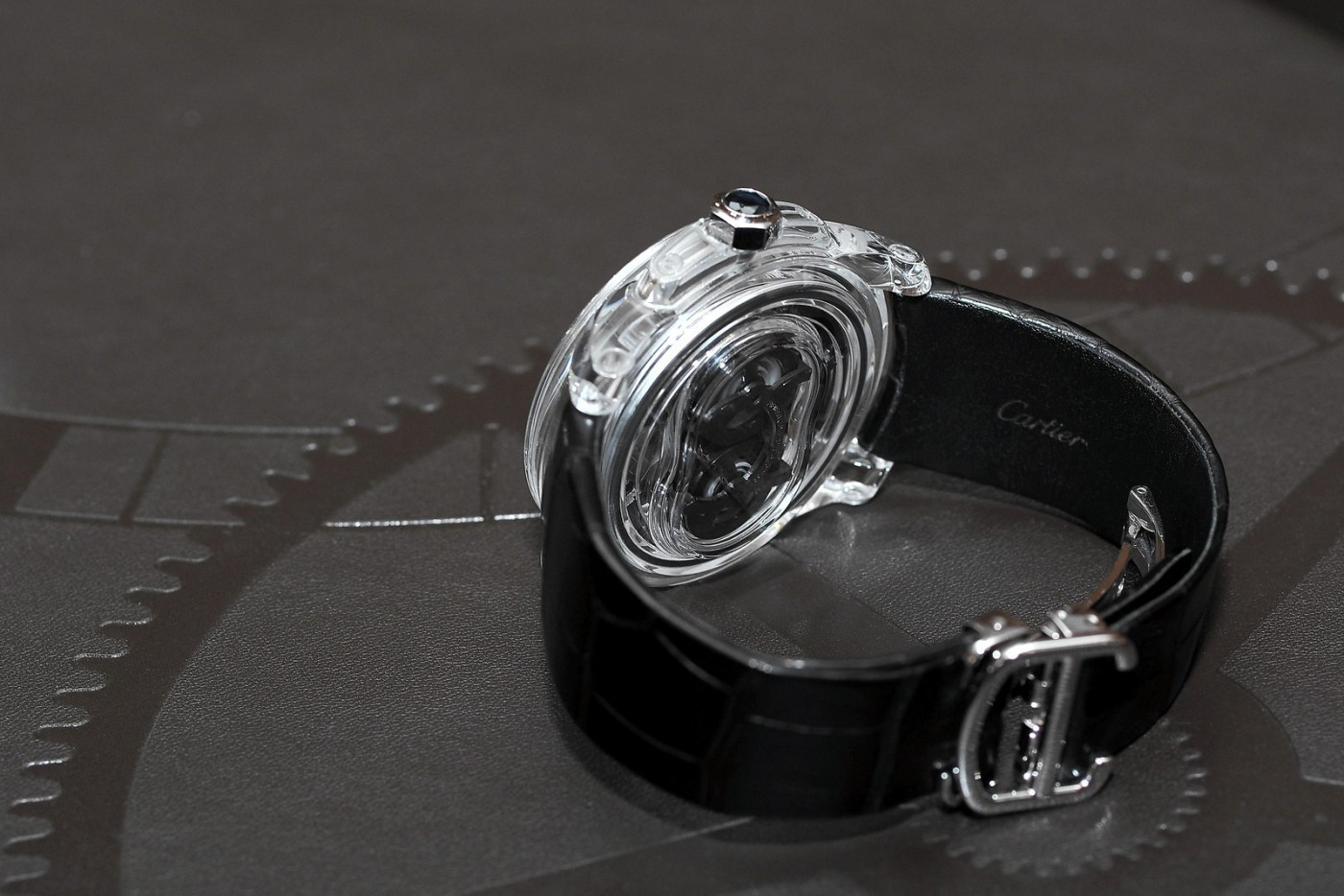 Cartier ID Two caseback