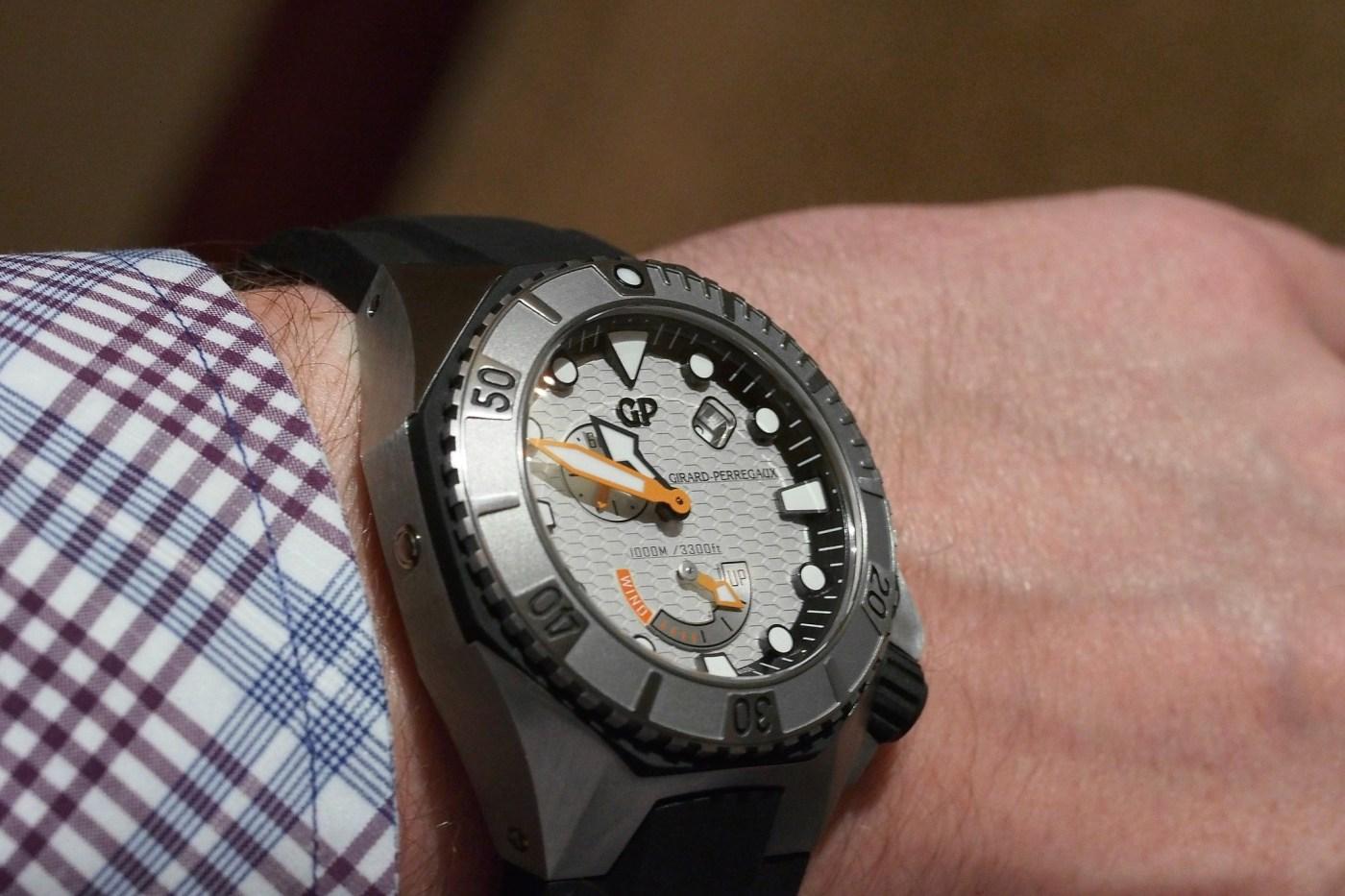 Girard-Perregaux Sea Hawk wristshot