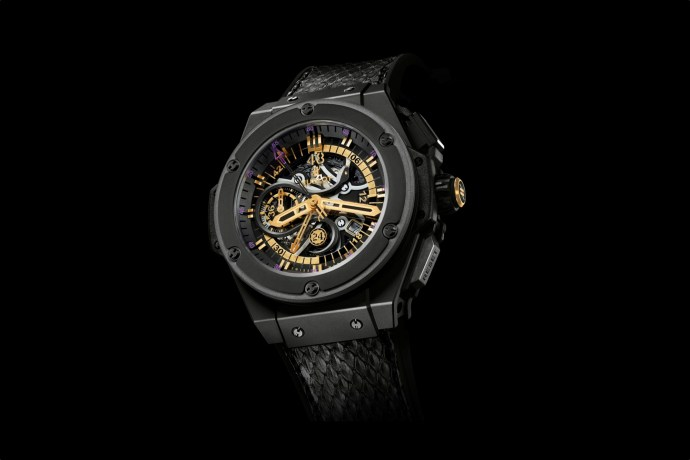 Kobe Bryant Hublot King Power Black Mamba Chronograph