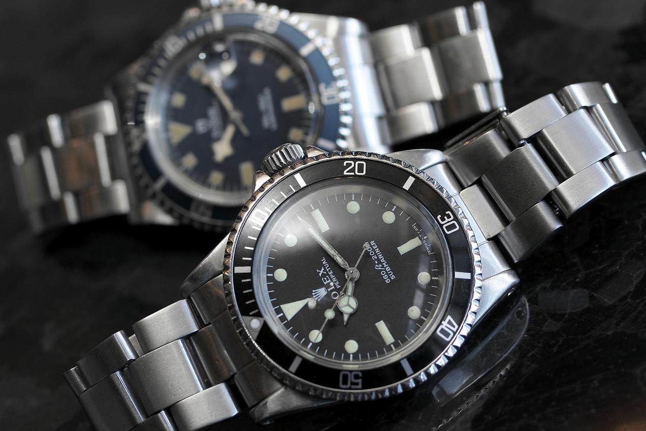 Rolex 5513 and Tudor Tudor 94110