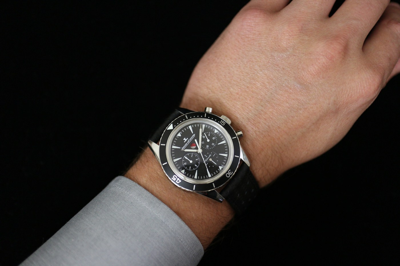 Jaeger-LeCoultre Deep Sea Chronograph with dress shirt