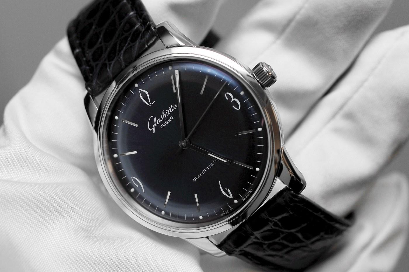 Glashutte Original Senator Sixties blue dial