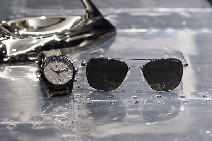 IWC Pilot's Watches + Randolph Mil-Spec Aviator Sunglasses