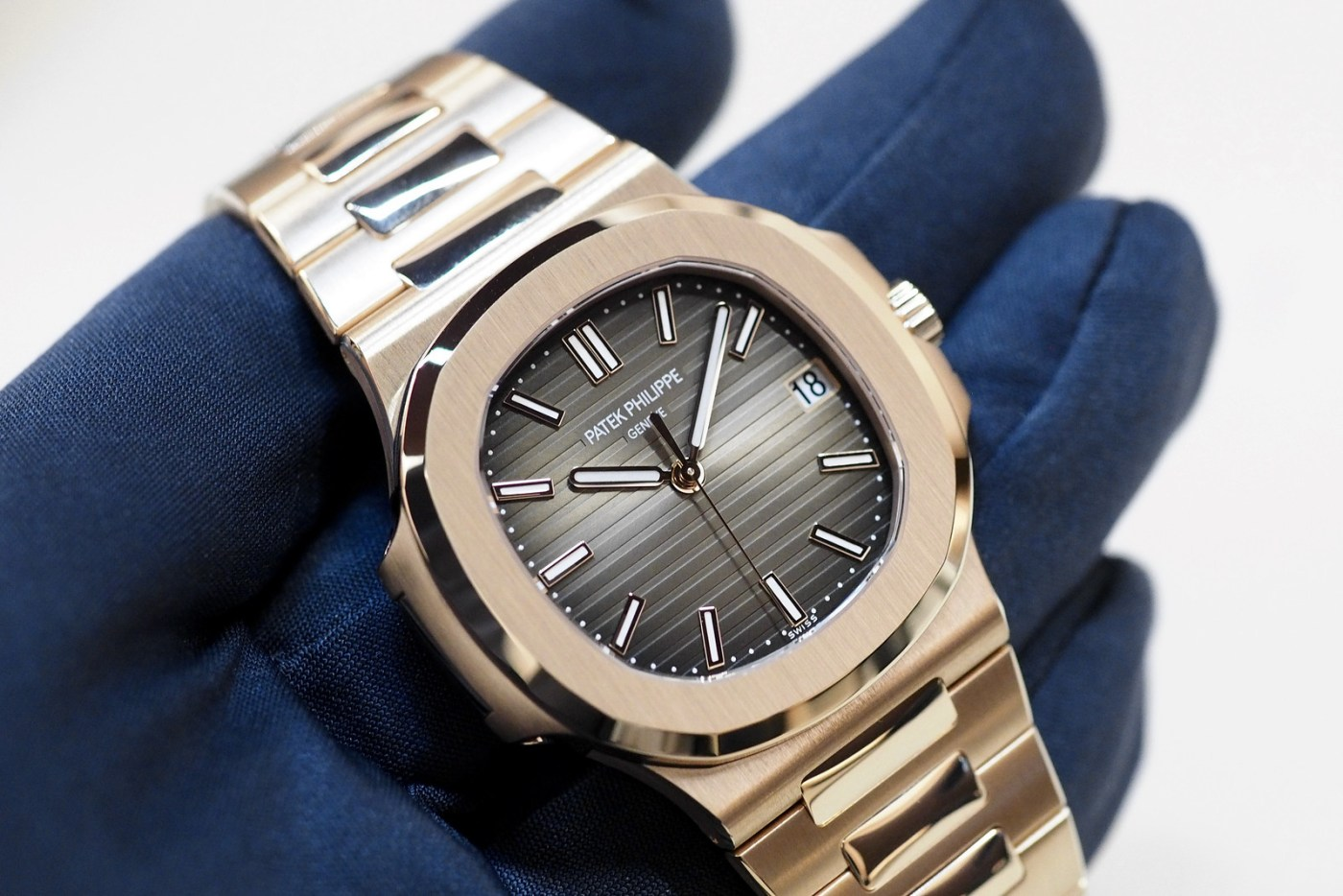 Patek Philippe Nautilus in solid gold