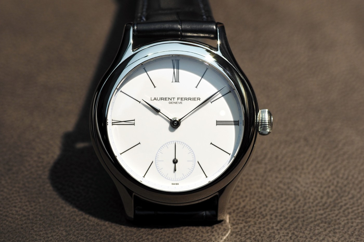 Laurent Ferrier at Baselworld 2015