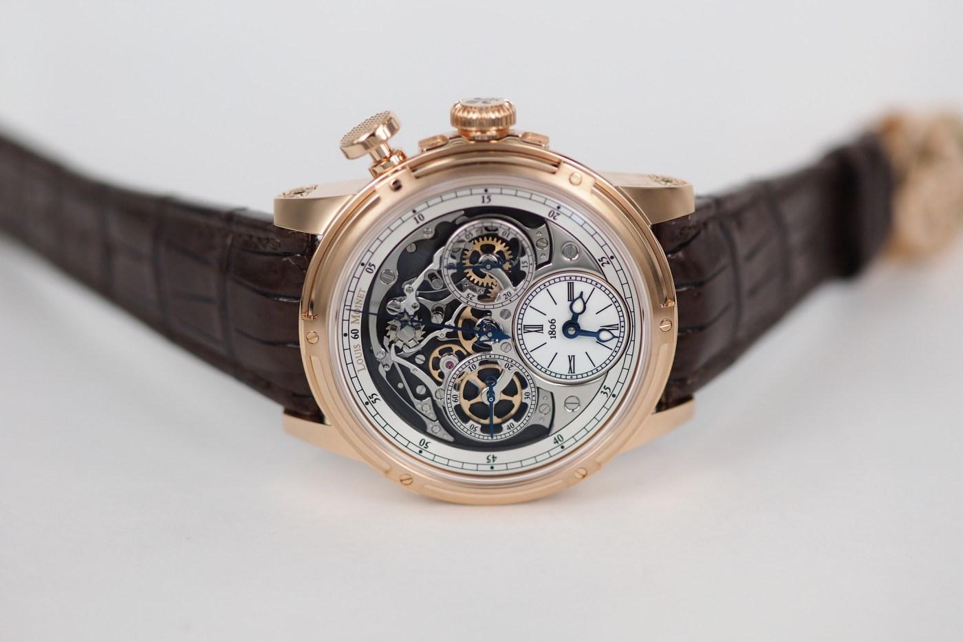 Louis Moinet Memoris Chronograph