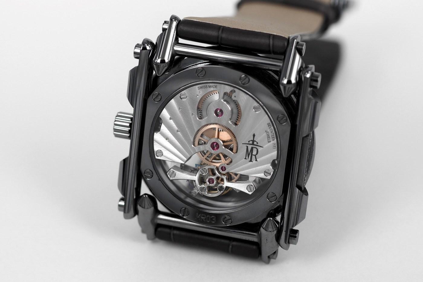 Manufacture Royale Androgyne caseback full black