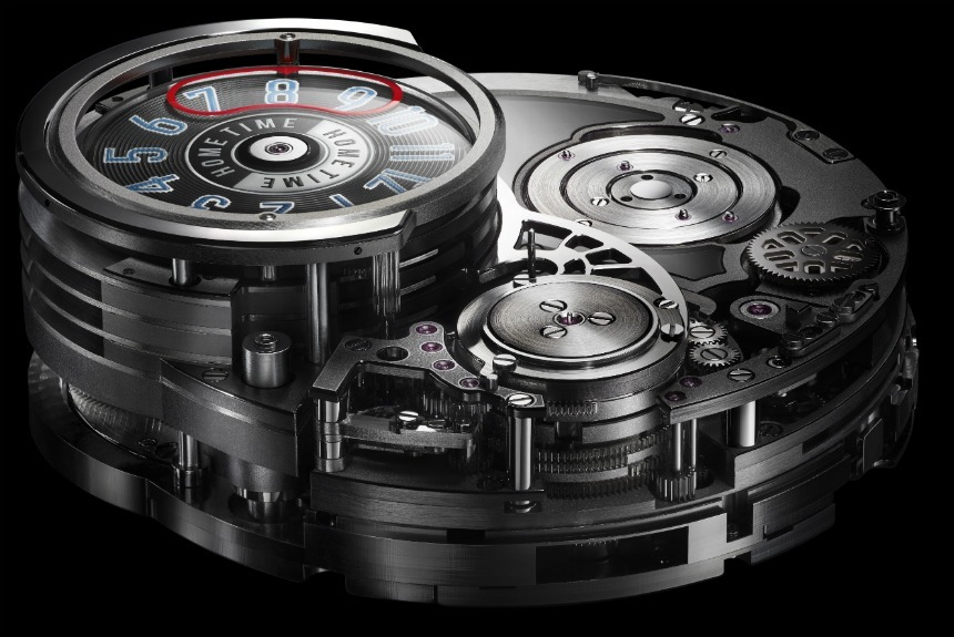 Harry Winston Opus 14 components view