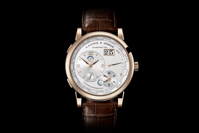 Lange 1 Timezone Honey Gold