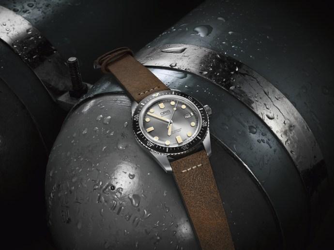 Oris Sixty-Five Diver silver
