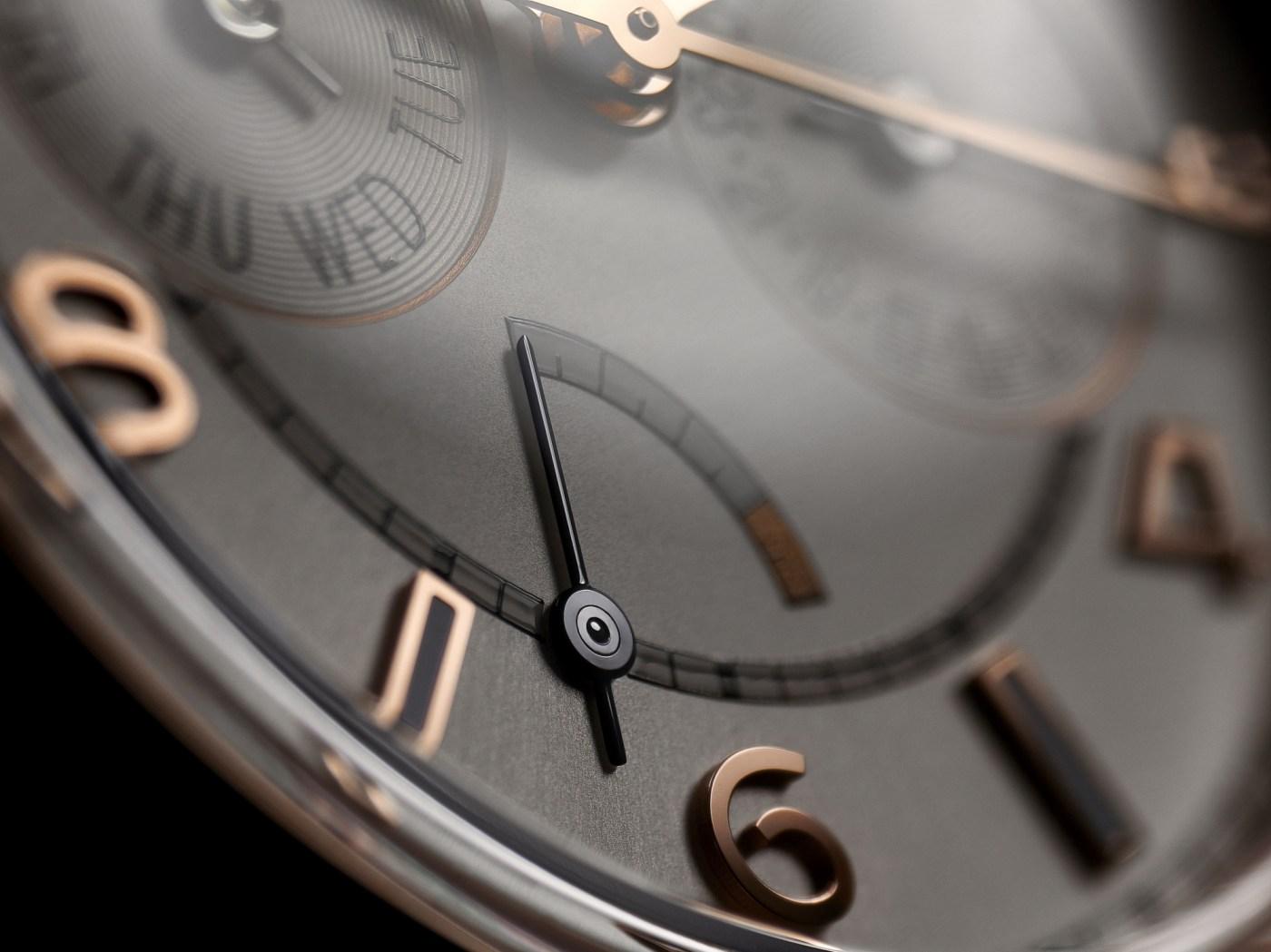 Vacheron Fiftysix Day Date dial close up