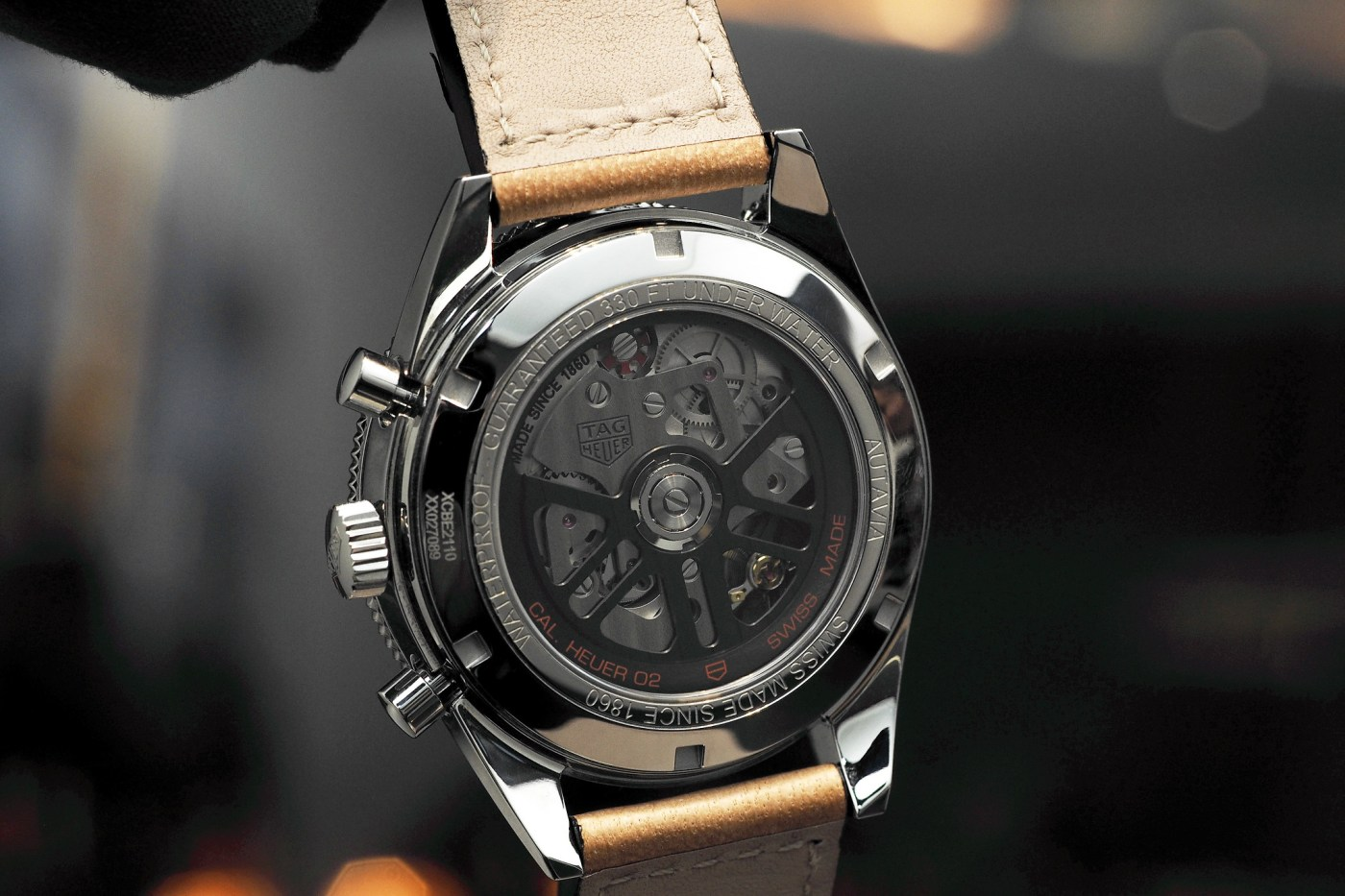 TAG Heuer 02 Chronograph movement