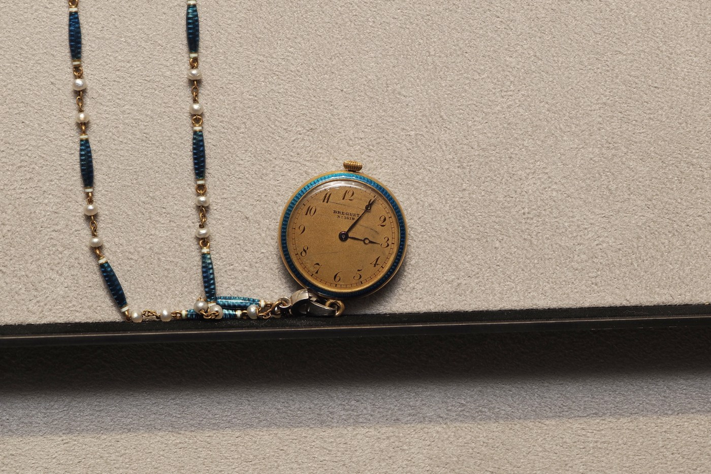 Breguet Pendant watch on display at the Breguet Museum of Paris