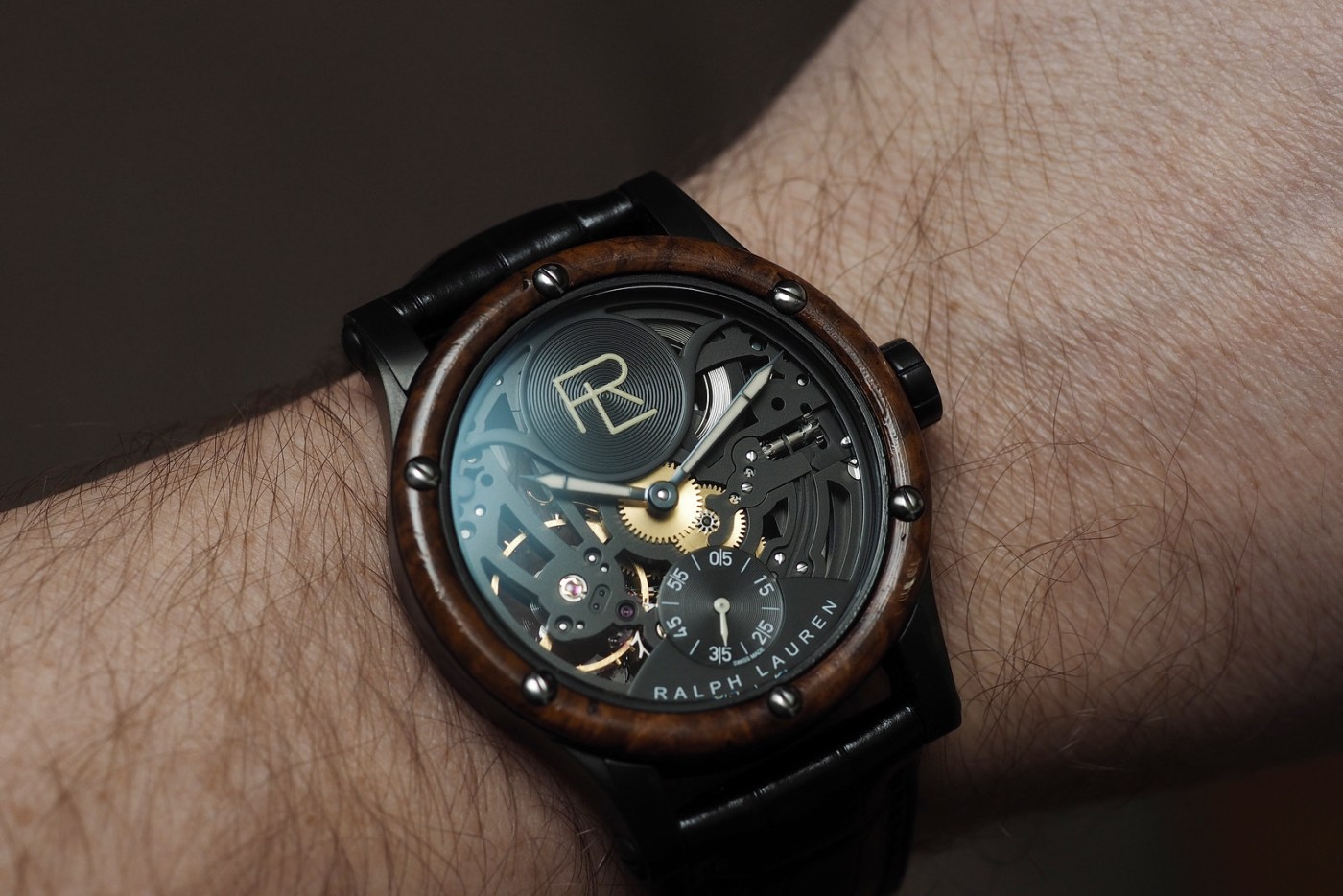 Ralph Lauren Automotive wristshot Skeleton