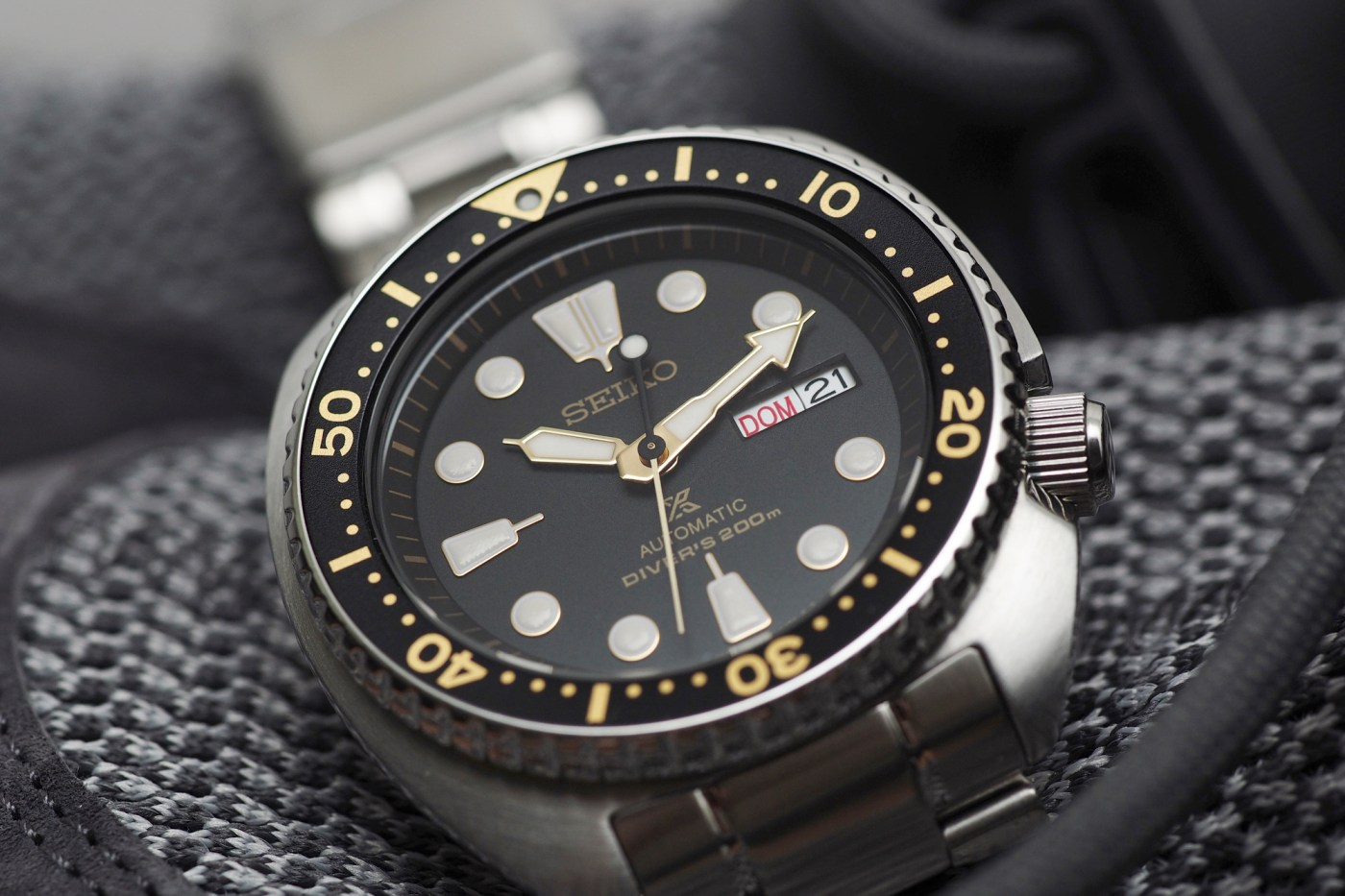 Seiko Turtle Dive watch
