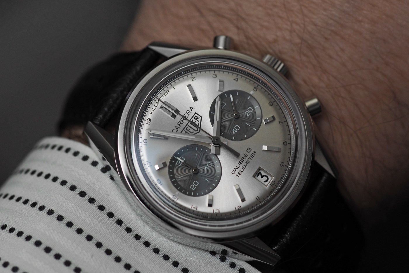 TAG Heuer Carrera Calibre 18 Automatic Chronograph wristshot