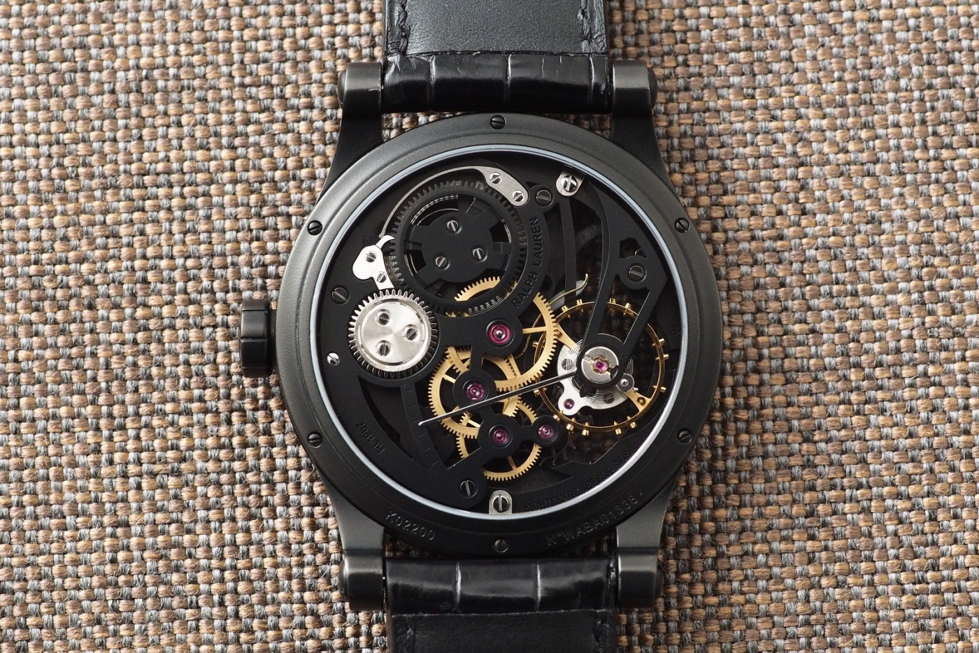 Ralph Lauren Automotive Skeleton caseback