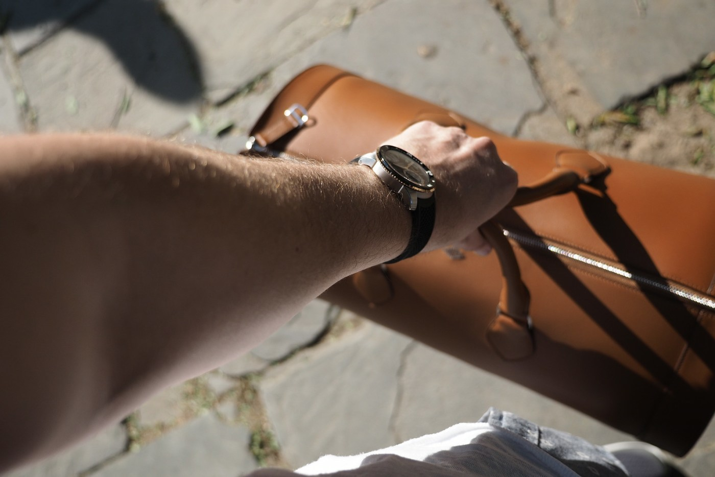 Cartier Two-Tone Diver's Watch wristshot