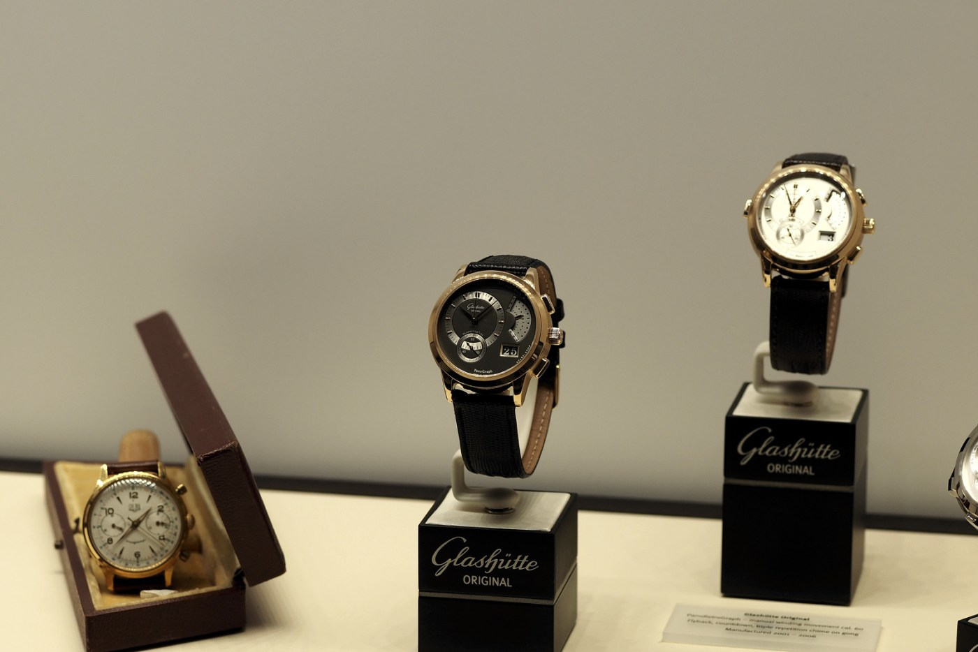 Glashutte Original Caliber 37 Chronograph Launch Party