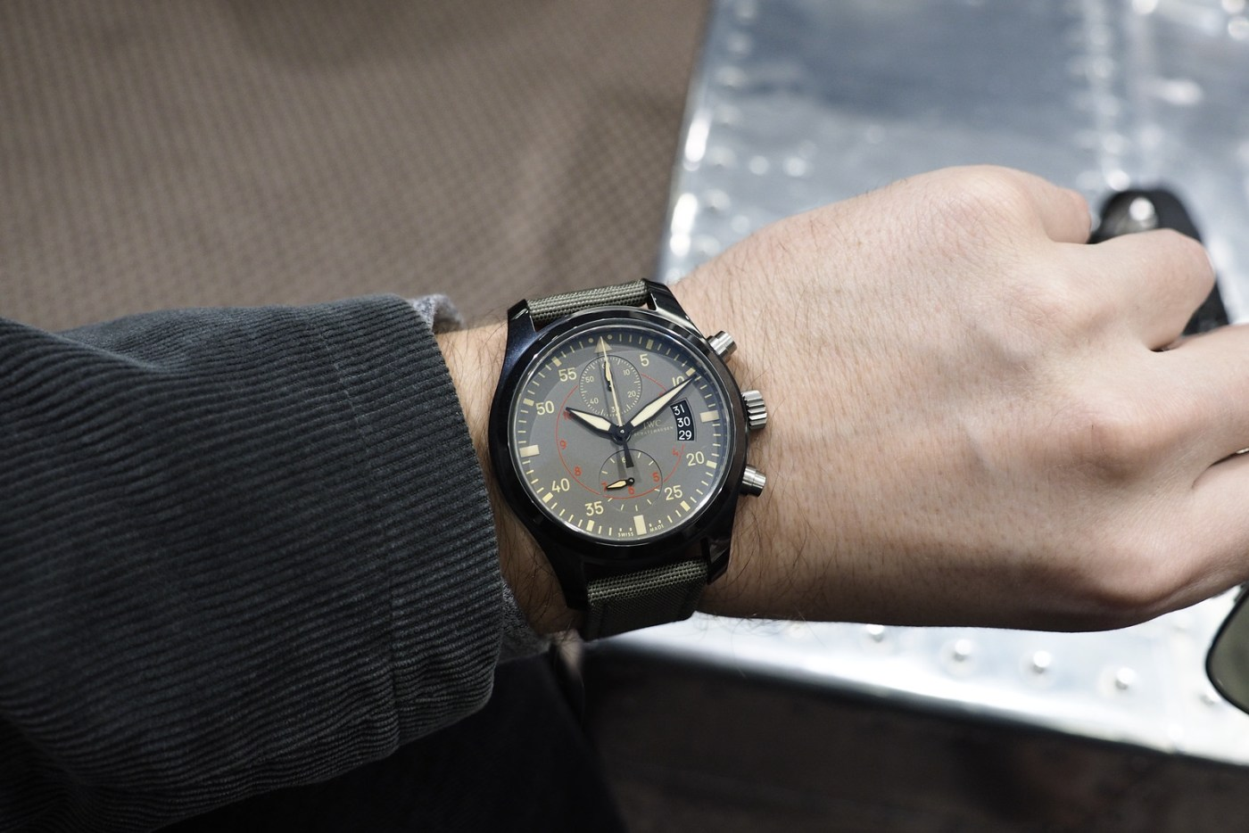 IWC Top Gun Mirimar watch
