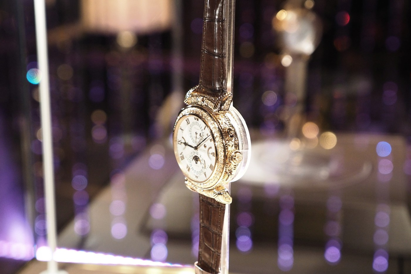 Grand Master Chime on display at Patek Philippe 175th NYC