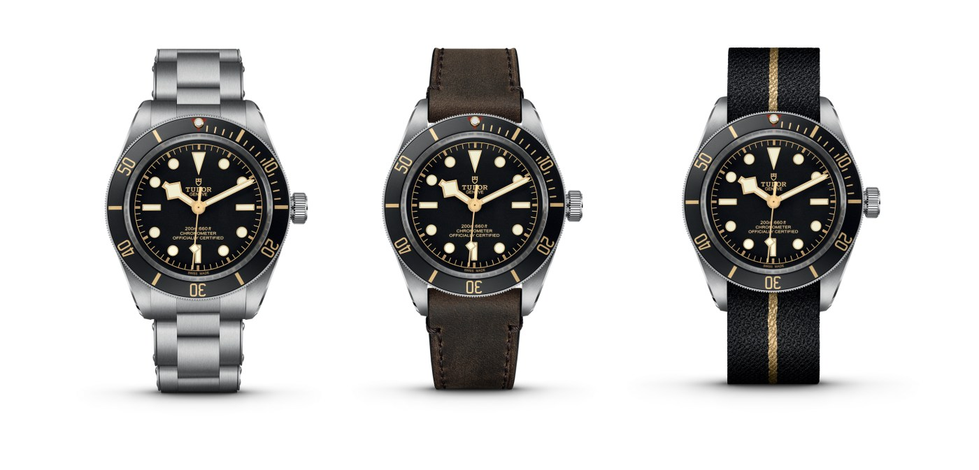 Tudor Black Bay Fifty-Eight models