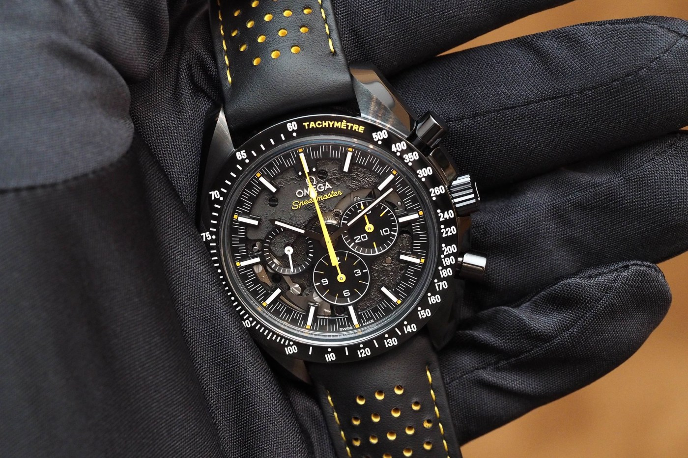 Omega Speedmaster Dark Side of the Moon Apollo 8
