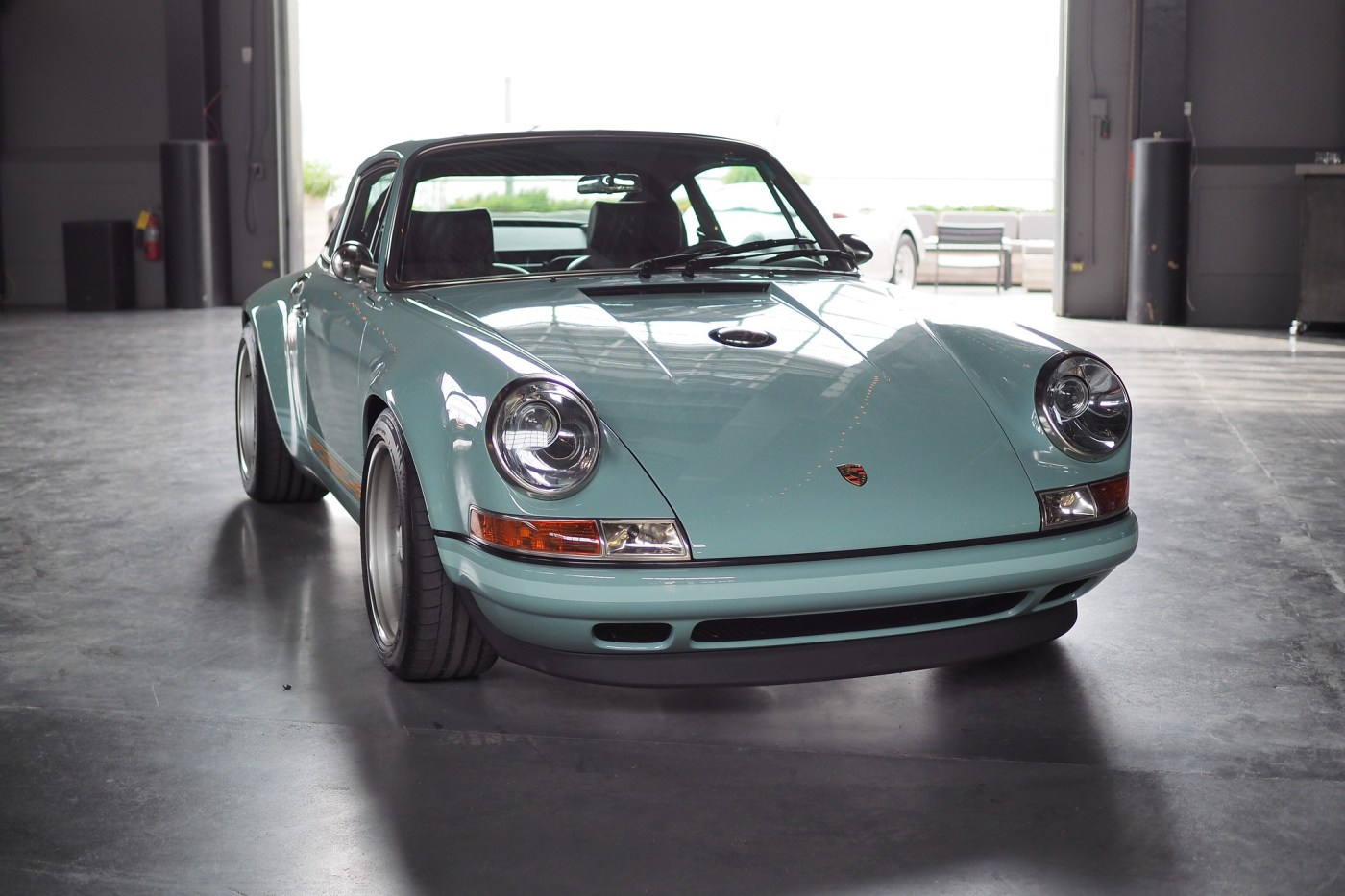 Singer Porsche 911 at Classic Car Club of Manhattan