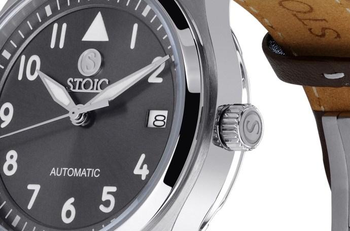 Stoic Pilots Dial Detail