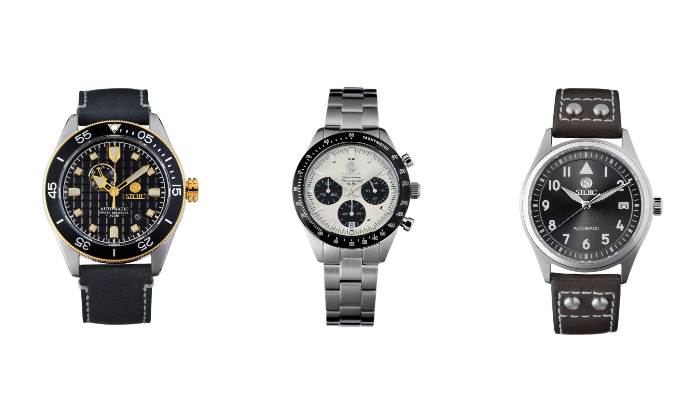 Stoic watch collection