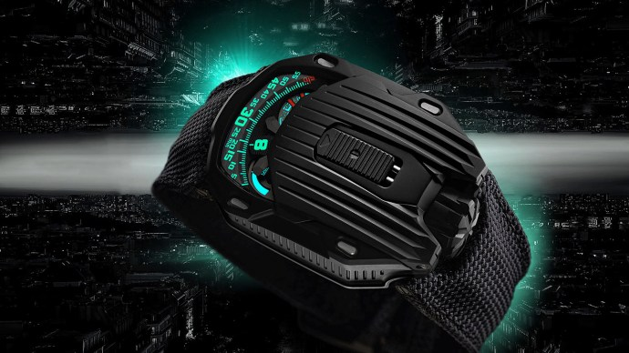 Urwerk Kryptonite UR-105CT side