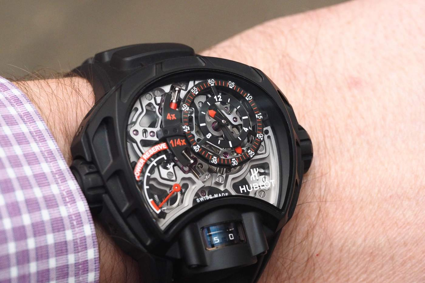 Hublot MP-12 Key of Time Skeleton