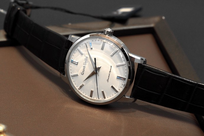 The first Grand Seiko recreated