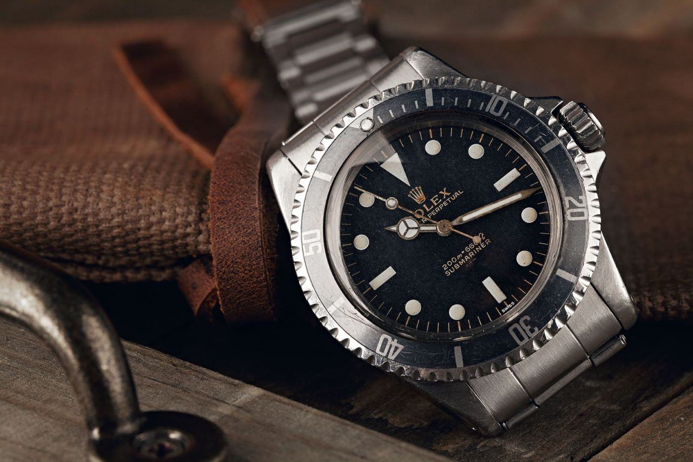 Rolex Submariner 5513 Meters First