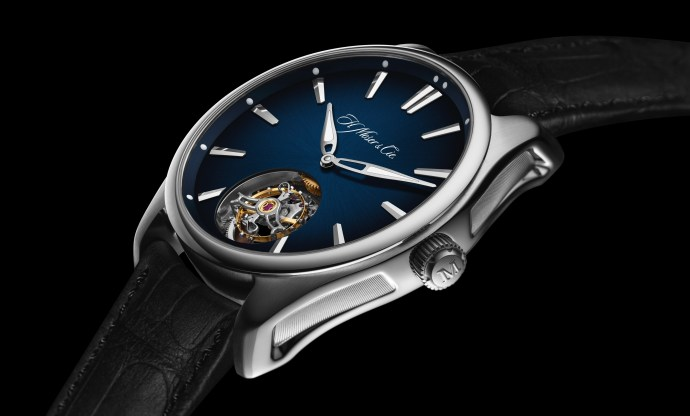 H Moser and Cie Pioneer Tourbillon