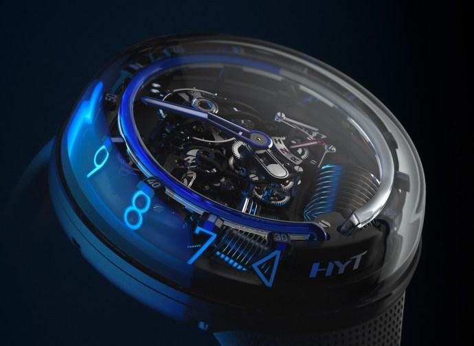 HYT H2.0 Blue Side