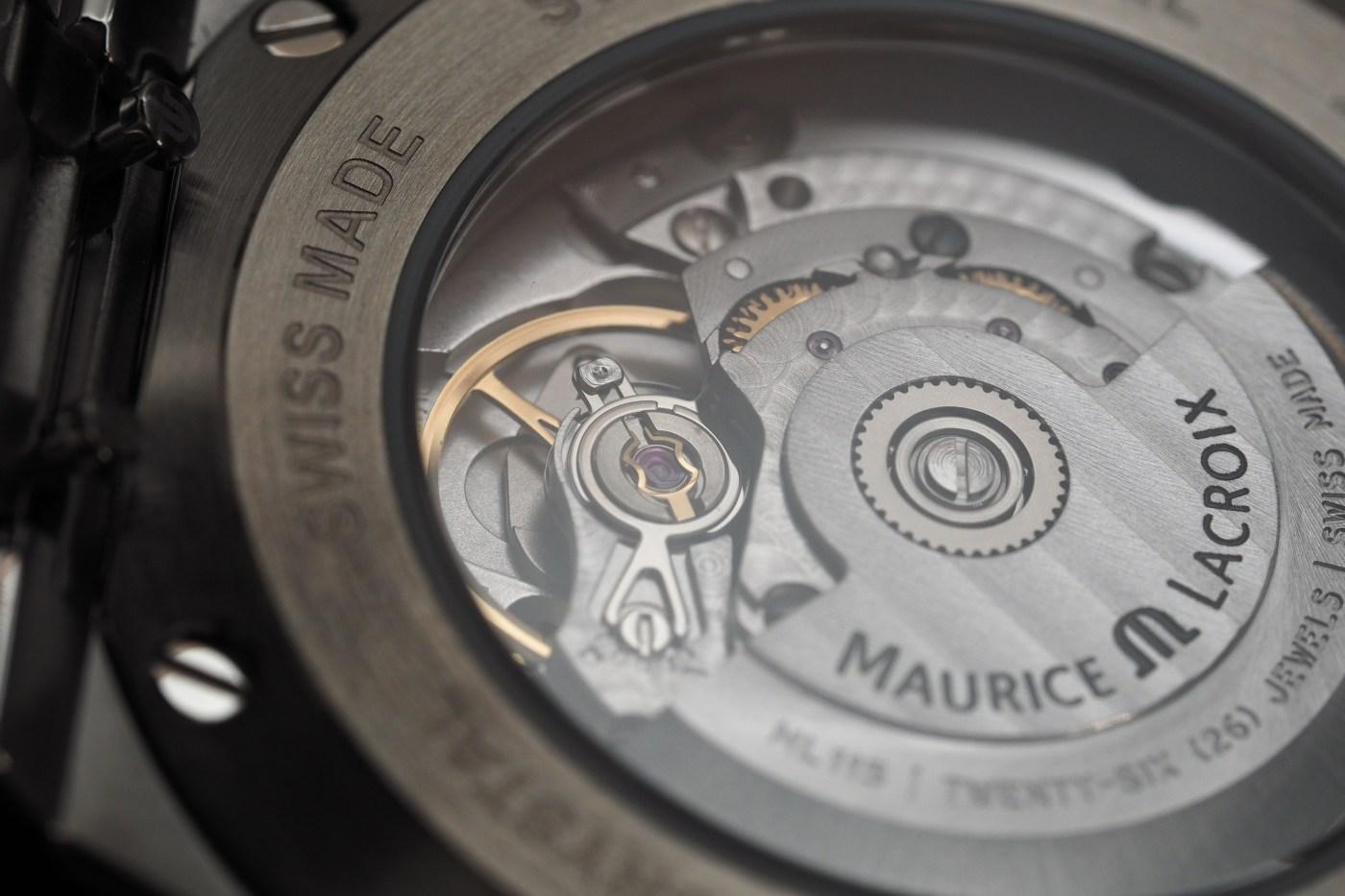 Maurice Lacroix Aikon Automatic caseback