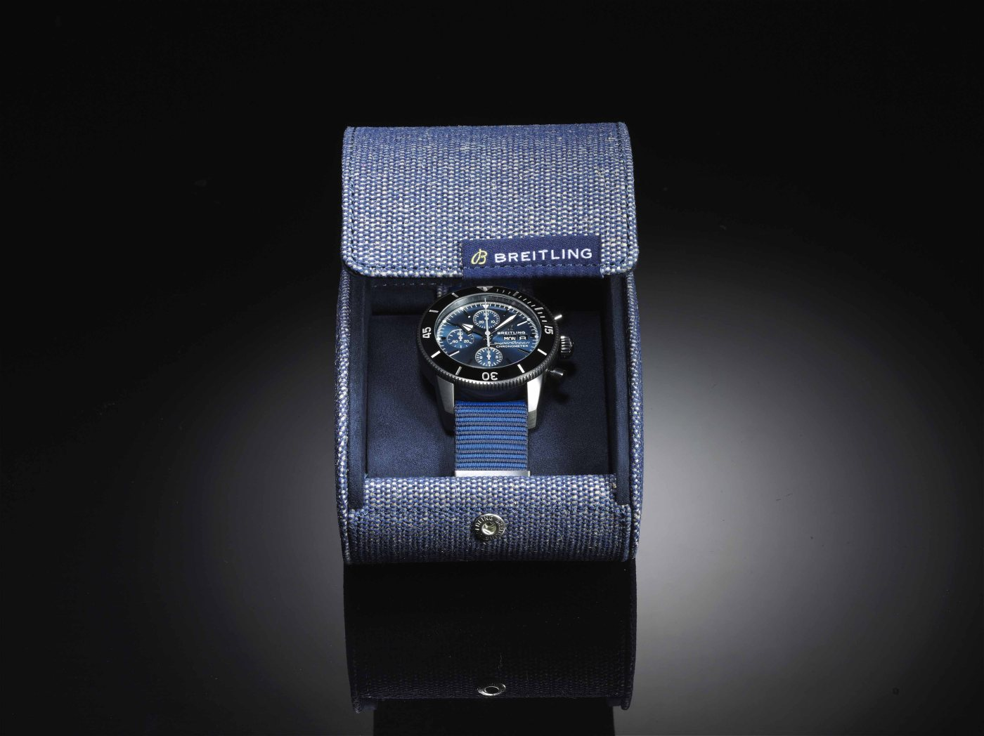 Superocean Heritage II Chronograph 44 Outerknown packaging