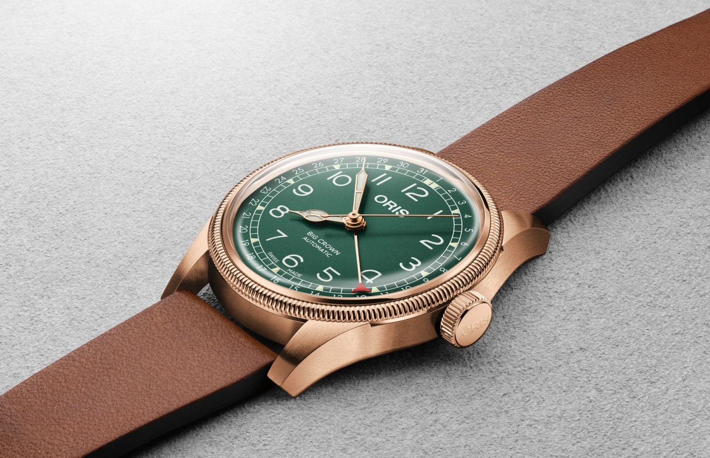 Oris Press Release: Big Crown Pointer Date 80th Anniversary Edition
