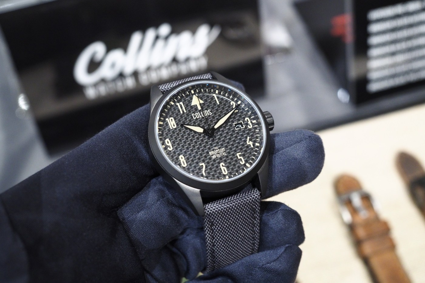 Collins Bronson Carbon Watch