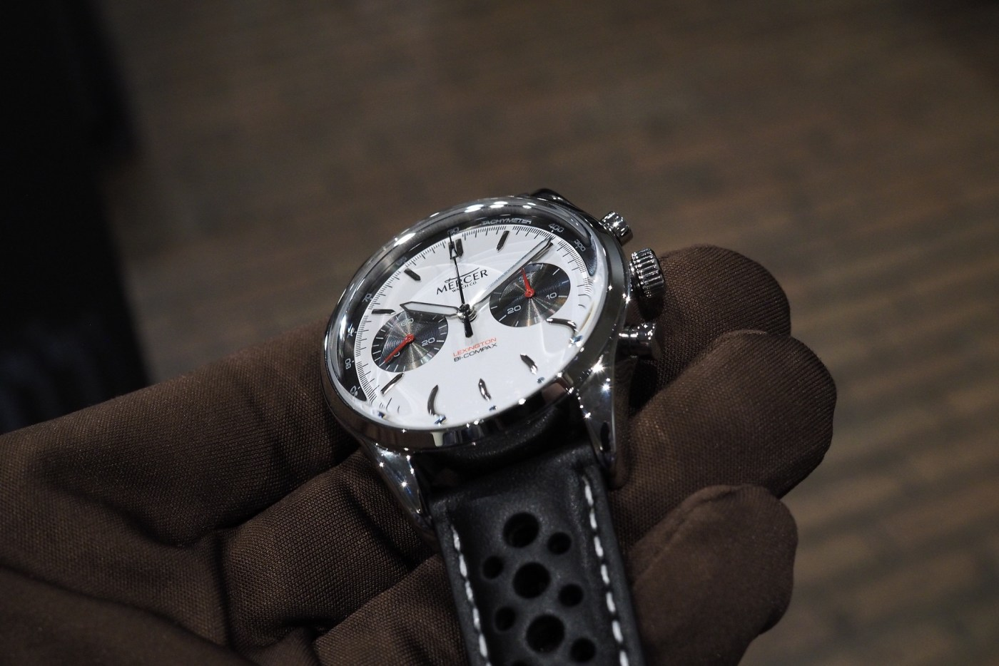 Mercer Watch Co Panda Dial Chronograph