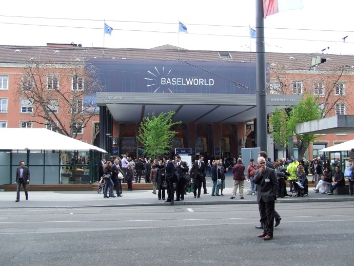 Baselworld 2008 Hall 1 facade