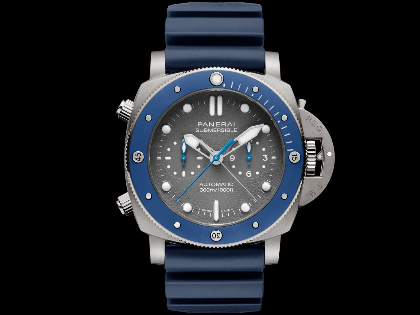 Panerai Submersible Chrono Guillaume Néry Edition PAM982
