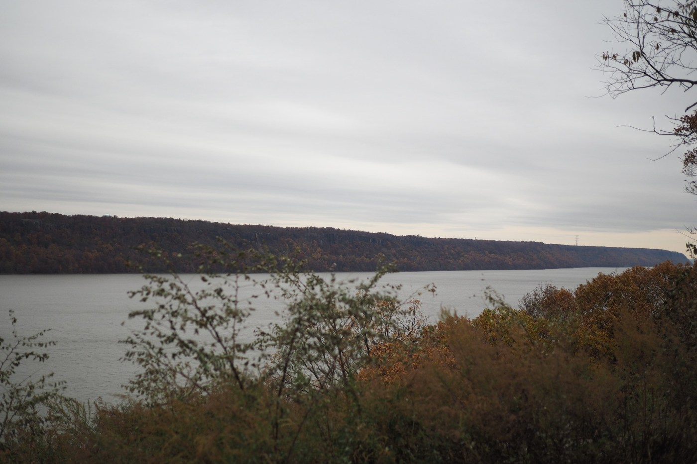 Scenic Hudson River Overlook at Inwood Hill