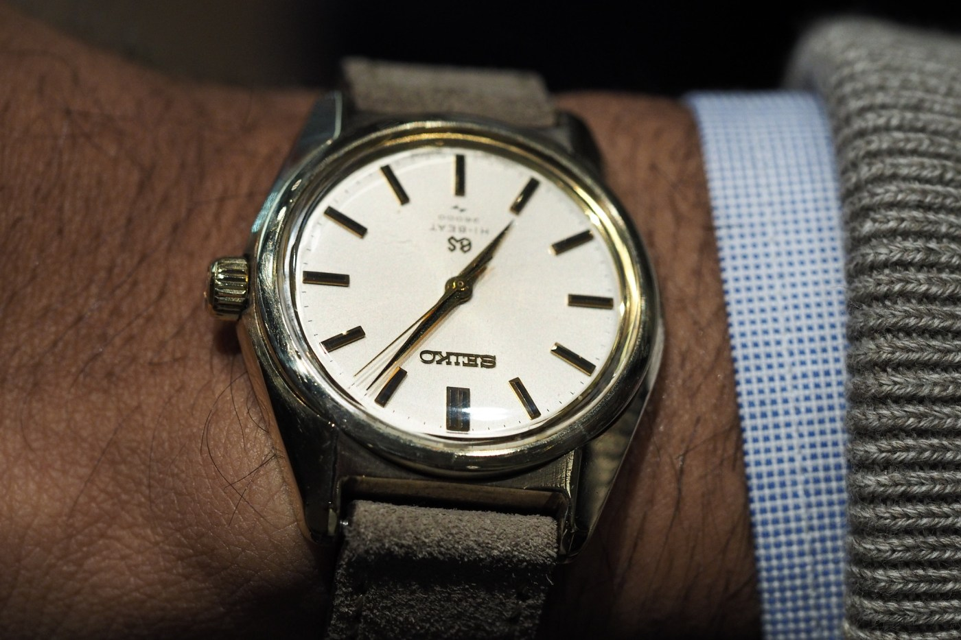 Vintage Grand Seiko Hi-Beat 44GS Manual Wind (not for sale)