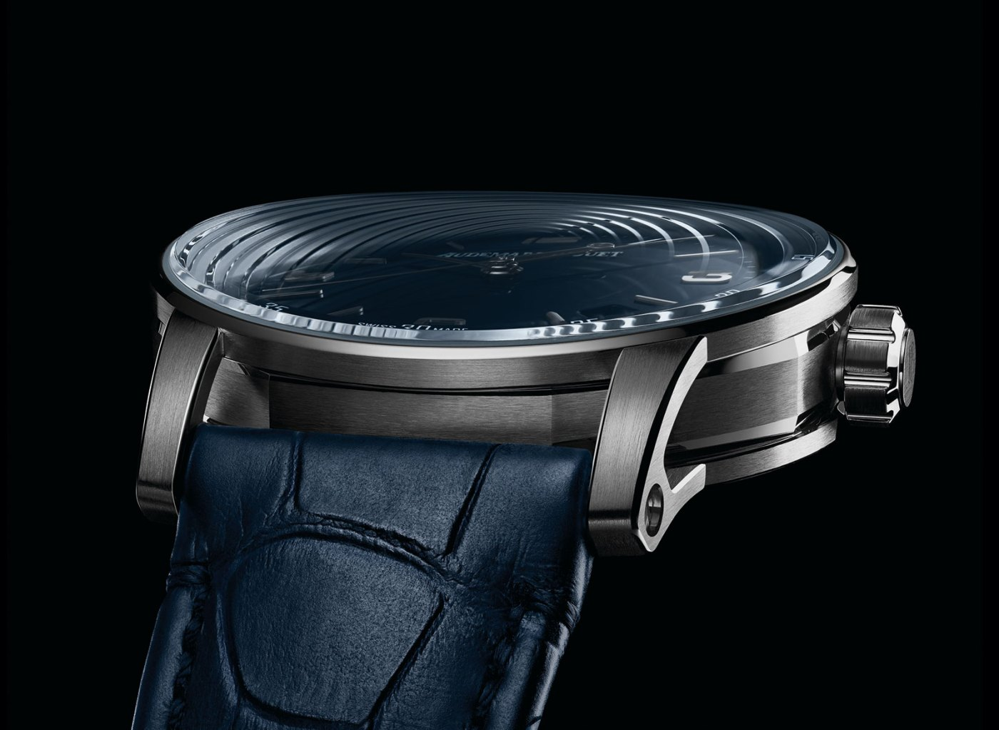 Audemars Piguet Code 11.59 two plane curved sapphire crystal
